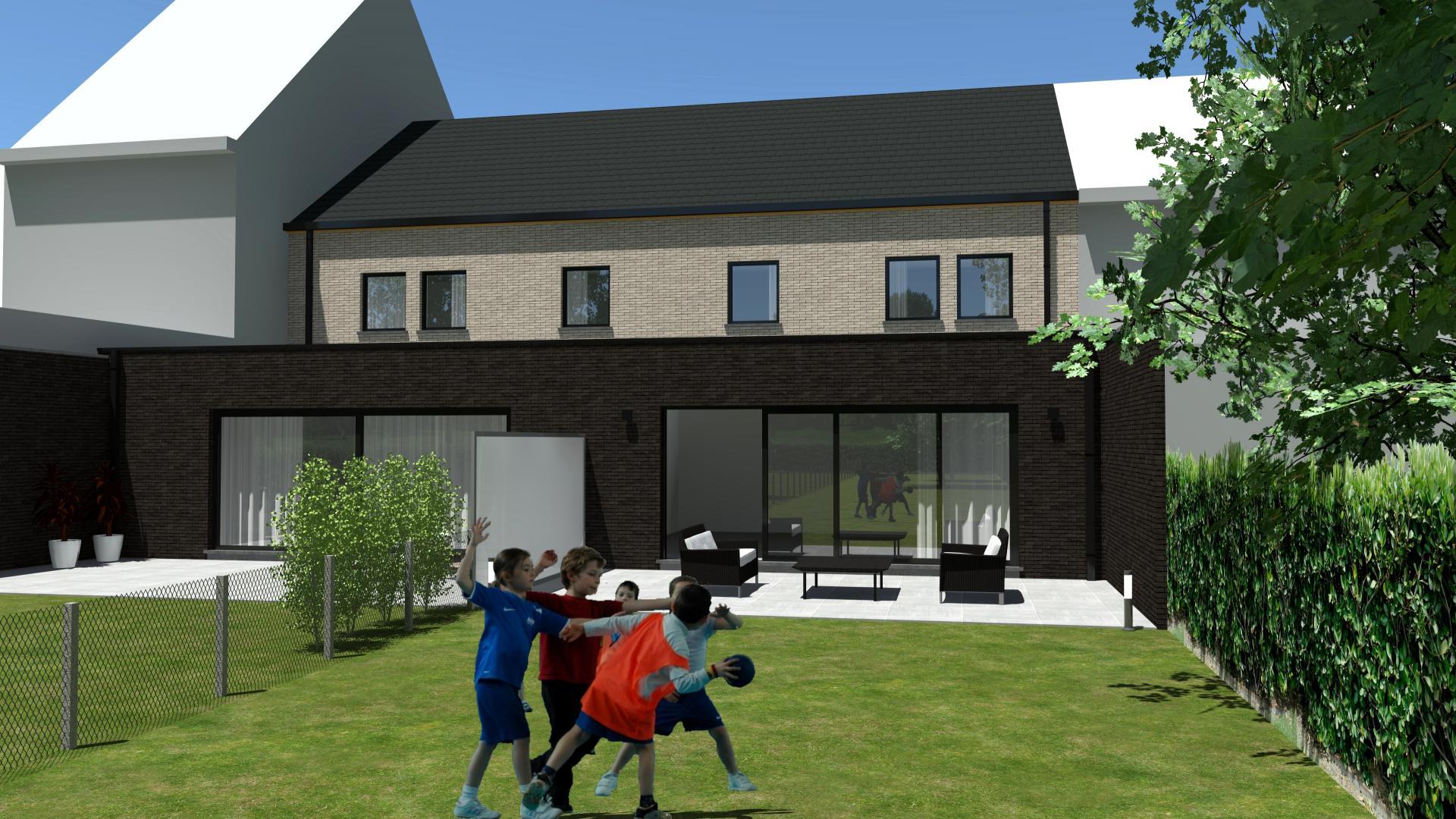Gunstig gelegen en ruime nieuwbouwwoning met 3 slaapkamers, tuin en garage.