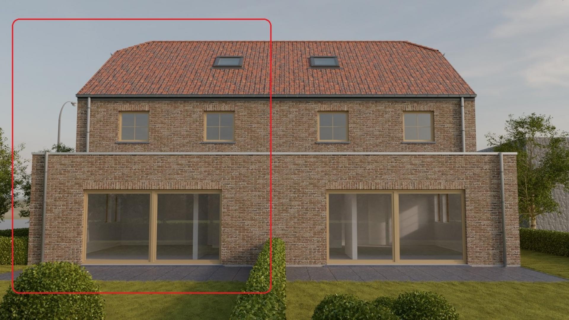 Ruime nieuwbouwwoning met 3 slaapkamers en tuin. Afwerking naar keuze.