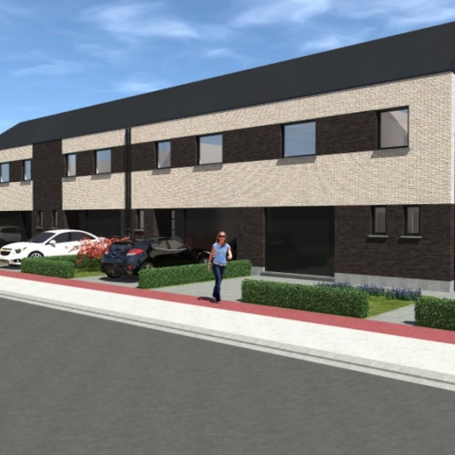 Zeer goed gelegen 3-gevel nieuwbouwwoning met 3 of 4 slaapkamers, tuin en garage.